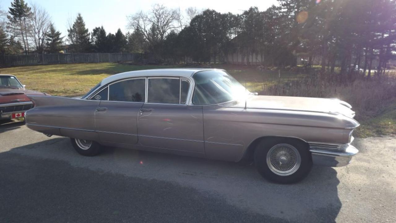 1960 Cadillac DeVille SEDAN DEVILLE 6 WINDOW HT