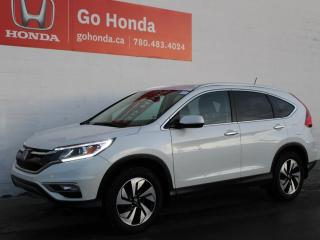 Used 2016 Honda CR-V Touring AWD for sale in Edmonton, AB
