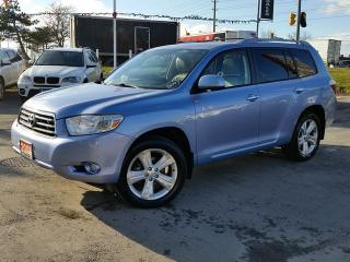 Used 2008 Toyota Highlander LIMITED V6 AWD for sale in Brampton, ON