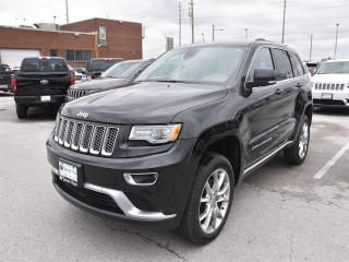 Used 2015 Jeep Grand Cherokee Summit NAVI/DUAL-PANE SUNROOF/REAR CAMERA for sale in Concord, ON