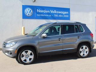Used 2016 Volkswagen Tiguan COMFORTLINE for sale in Edmonton, AB