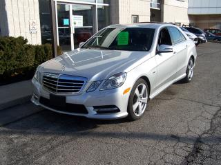 Used 2012 Mercedes-Benz E-Class E300 4-MATIC, Navigation, Sport pkg for sale in Oakville, ON