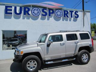 Used 2006 Hummer H3 leather for sale in Newmarket, ON
