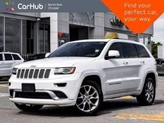 New 2015 Jeep Grand Cherokee Summit 4WD Panoramic Sunroof Harman Kardon Sound Navigation Blind Spot for sale in Thornhill, ON