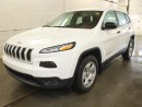 Used 2016 Jeep Cherokee SPORT/ V6/ 4X4/ REMOTE STARTER for sale in Edmonton, AB