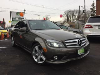 Used 2010 Mercedes-Benz C-Class SOLD for sale in Hamilton, ON