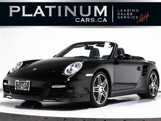 Used 2008 Porsche 911 Turbo CABRIOLET, Sport CHRONO, NAVI, Carbon for sale in Toronto, ON