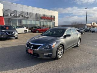 Used 2015 Nissan Altima Sedan 2.5 S CVT for sale in Smiths Falls, ON