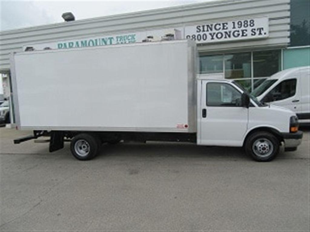 Richmond Hill Mitsubishi >> Used 2017 GMC Savana 3500 16 ft aluminun box gas cube van for Sale in Richmond Hill, Ontario ...