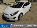Used 2015 Hyundai Elantra Heated Seats/USB/Bluetooth for sale in Edmonton, AB