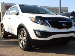 Used 2016 Kia Sportage EX, DUAL SUNROOF, COOLED/HEATED SEATS, HEATED WHEEL, BACKUP CAM, NAVI, SIRIUS, AUX/USB for sale in Edmonton, AB