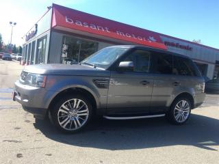 Used 2011 Land Rover Range Rover Sport HSE Luxury, Low KMs, Nav, Backup Camera!! for sale in Surrey, BC