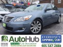 Used 2009 Hyundai Genesis LUXURY-SUNROOF-LEATHER-HEATED SEATS-ALLOY for sale in Hamilton, ON