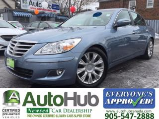 Used 2009 Hyundai Genesis SUNROOF-LEATHER for sale in Hamilton, ON