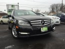 Used 2013 Mercedes-Benz C-Class SOLD for sale in Hamilton, ON
