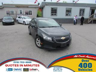 Used 2012 Chevrolet Cruze LT   TURBO   CLEAN   MUST SEE for sale in London, ON