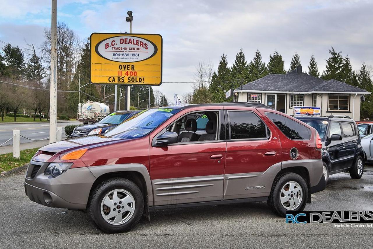 2001 Pontiac Aztek ALL WHEEL DRIVE, Factory Tent, Local!
