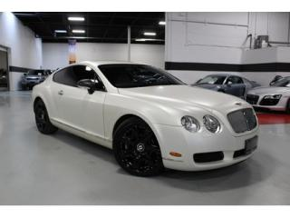 Used 2005 Bentley Continental GT SATIN WHITE ON BLACK LEATHER STICHING for sale in Vaughan, ON