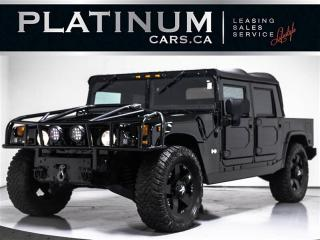 Used 2004 Hummer H1 LEATHER INTERIOR, OPEN TOP, DVD ENTERTAIN for sale in Toronto, ON