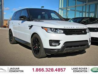 Used 2016 Land Rover Range Rover Sport V8 Supercharged DYNAMIC - CPO 6yr/160000kms manufacturer warranty included until March 18, 2022! CPO rates starting at 2.9%! LOCALLY OWNED AND DRIVEN | EXECUTIVE DEMO | NO ACCIDENTS | 3M PROTECTION APPLIED | NAVIGATION | SURROUND CAMERA SYSTEM | REV for sale in Edmonton, AB