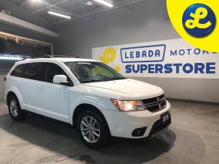 Used 2015 Dodge Journey SXT/LIMITED * 7 Passenger * V6 * 225/65/17 Polar Trax Winter Tires * UConnect * Cruise Control * Engine Oil Cooler Touring Suspension * Steering Wheel for sale in Cambridge, ON