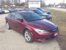 Used 2015 Chrysler 200 S POWER SEAT! BLUETOOTH! MUCH MORE! for sale in Aylmer, ON