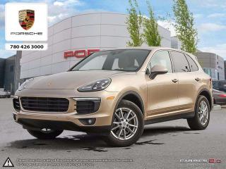 Used 2016 Porsche Cayenne Base for sale in Edmonton, AB