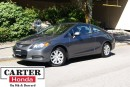 Used 2012 Honda Civic LX + LOCAL + BLUETOOTH + CERTIFIED! for sale in Vancouver, BC