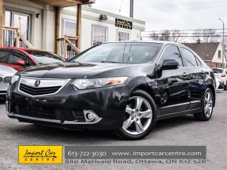 Used 2012 Acura TSX w/Premium Pkg 6 SPEED, LEATHER, ROOF, XENONS for sale in Ottawa, ON