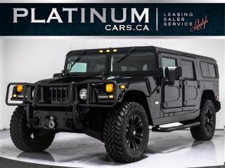 Used 2006 Hummer H1 Alpha WAGON, Duramax DIESEL, LEATHER, XD Wheel for sale in Toronto, ON
