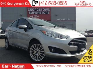 Used 2015 Ford Fiesta Titanium| 36KMS| LEATHER| SUNROOF| BACKUP CAM for sale in Georgetown, ON