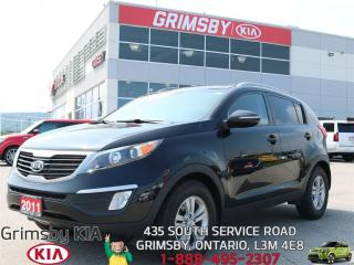 Used 2011 Kia Sportage LX FUEL EFFICIENT WITH LOW PAYMENTS!!! for sale in Grimsby, ON