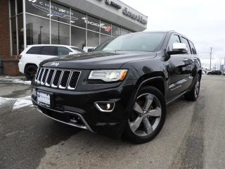 Used 2016 Jeep Grand Cherokee Overland DUAL-PANE SUNROOF/NAVI/ADVANCED TECH PACK for sale in Concord, ON