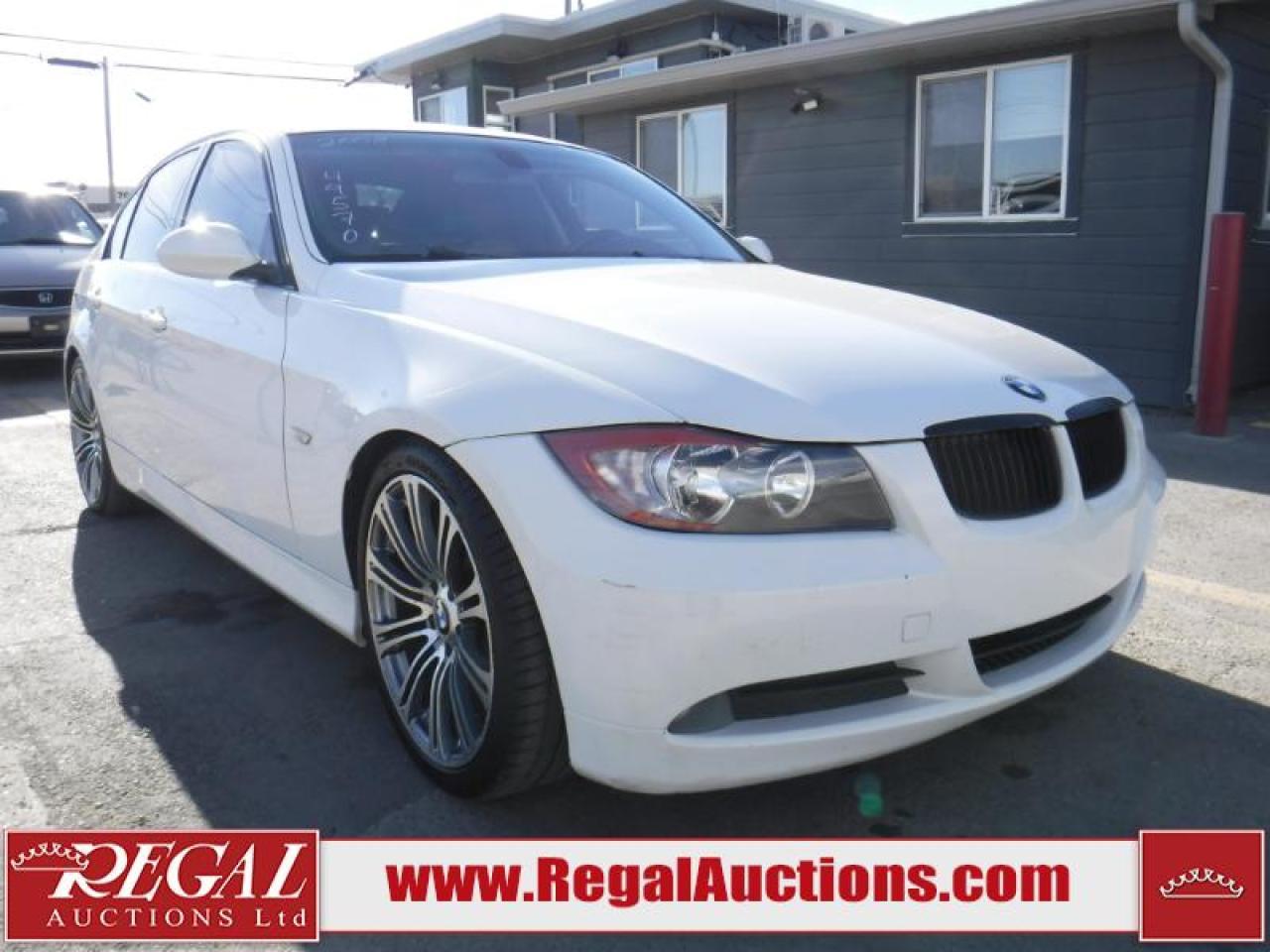 Photo of White 2008 BMW 3 SERIES 323I 4D SEDAN