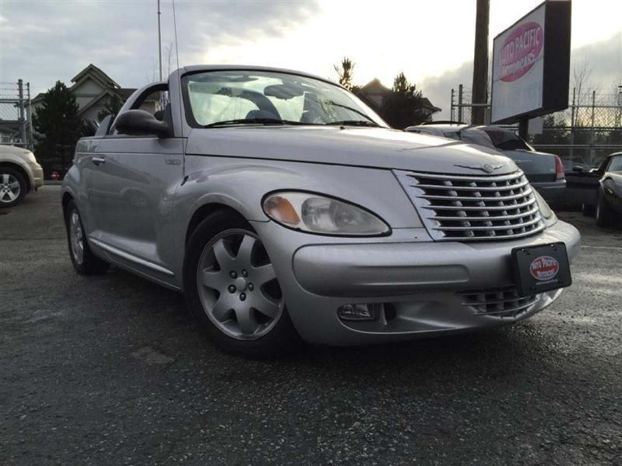 Photo of Silver 2005 Chrysler PT Cruiser