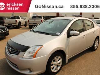 Used 2012 Nissan Sentra 2.0 S 4dr Sedan for sale in Edmonton, AB