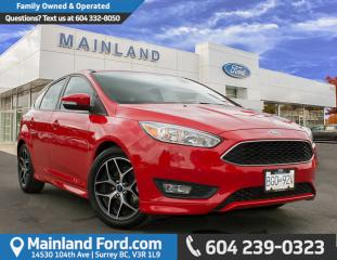 New 2015 Ford Focus SE for sale in Surrey, BC