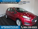 New 2016 Ford Fiesta BLUETOOTH, KEY LESS ENTRY, HATCHBACK for sale in Surrey, BC