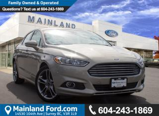 New 2016 Ford Fusion Titanium - memory seat - Leather Seats for sale in Surrey, BC