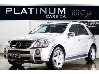 Used 2007 Mercedes-Benz ML-Class ML63 AMG, 503HP, NAV for sale in North York, ON