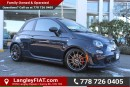 New 2016 Fiat 500 Abarth WITH LOWERING KIT, HEATED LEATHER SEATS for sale in Surrey, BC