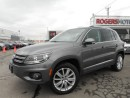 Used 2012 Volkswagen Tiguan - HIGHLINE - NAVI - LEATHER for sale in Oakville, ON