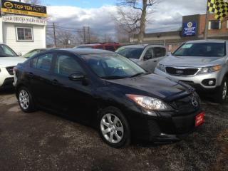 Used 2012 Mazda MAZDA3 PRE-OWNED CERTIFIED- Very Well Kept cheap on Gas for sale in Scarborough, ON