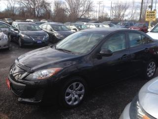 Used 2012 Mazda MAZDA3 PRE-OWNED CERTIFIED- 2.0 L 4-CYL IMPORT SEDAN for sale in Scarborough, ON