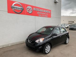 Used 2016 Nissan Micra TWO SETS OF TIRES/SV 4dr FWD Hatchback for sale in Edmonton, AB