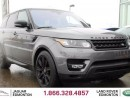 Used 2016 Land Rover Range Rover Sport V8 Supercharged DYNAMIC STEALTH - CPO 6yr/160000kms manufacturer warranty included until March 30, 2022! CPO rates starting at 2.9%! Local One Owner Trade In | No Accidents | 3M Protection Applied | Navigation | Park Assist | Reverse Traffic/Blind S for sale in Edmonton, AB