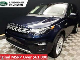 Used 2016 Land Rover Discovery Sport HSE Certified Pre Owned Warranty until March 29, 2022 or 160,000KM - Certified Rates from 2.9% for sale in Edmonton, AB