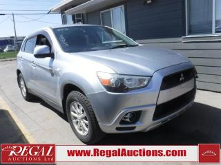 Used 2012 Mitsubishi RVR SE 4D Utility AWD for sale in Calgary, AB