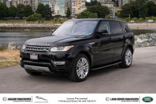 Used 2016 Land Rover Range Rover Sport V8 Supercharged *Certified Pre-Owned! for sale in Vancouver, BC