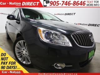 Used 2014 Buick Verano | LEATHER-TRIMMED SEATS| BACK UP CAMERA| for sale in Burlington, ON